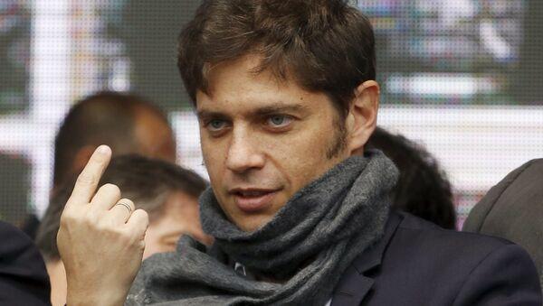 Axel Kicillof, ministro de Finanzas de Argentina - Sputnik Mundo