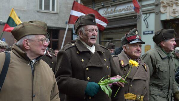 Veteranos que colaboraron con Wafen SS - Sputnik Mundo