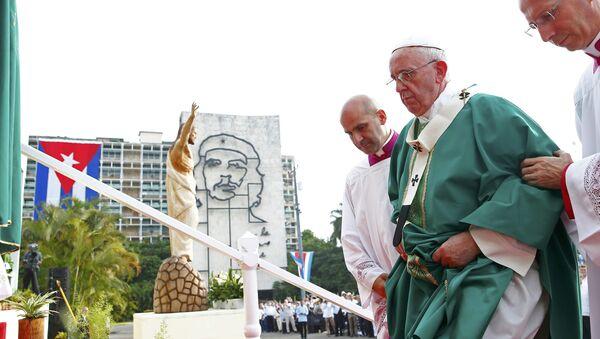 Papa Francisco en La Habana - Sputnik Mundo