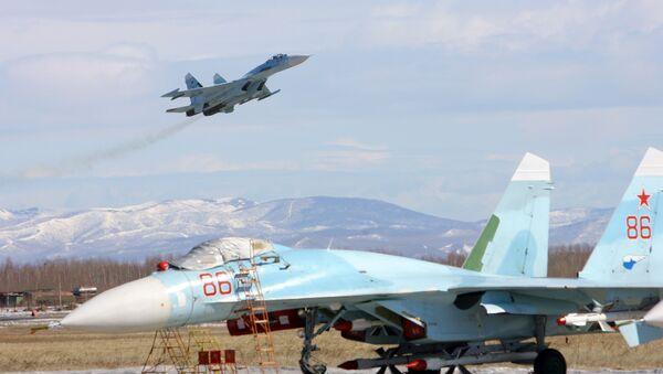 Cazas Su-27 SM3 - Sputnik Mundo