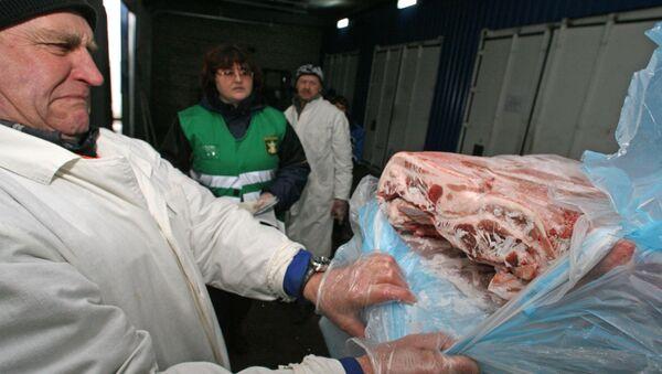 Carne importada (Archivo) - Sputnik Mundo