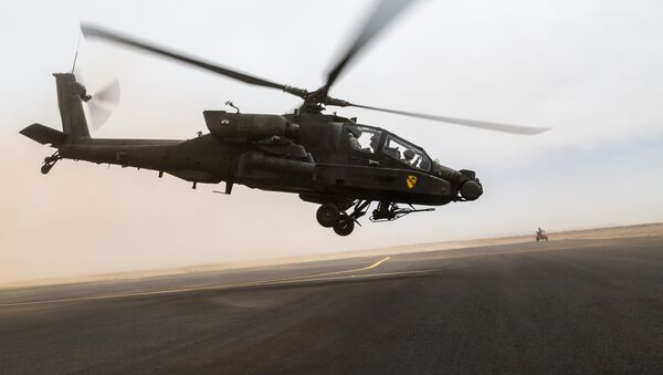 AH-64 Apache - Sputnik Mundo