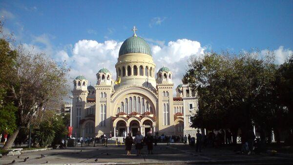 La iglesia del Santo Apóstol Andrés en Patras - Sputnik Mundo