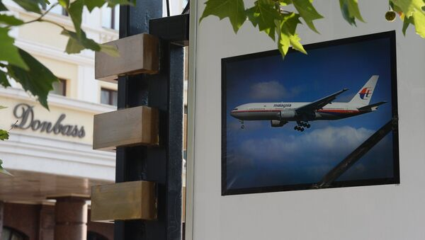 Foto en memoria de la catástrofe del Boeing MH17 - Sputnik Mundo