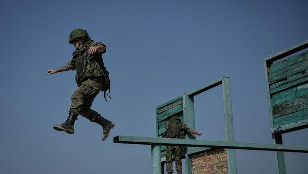 Infante de marina en Crimea - Sputnik Mundo