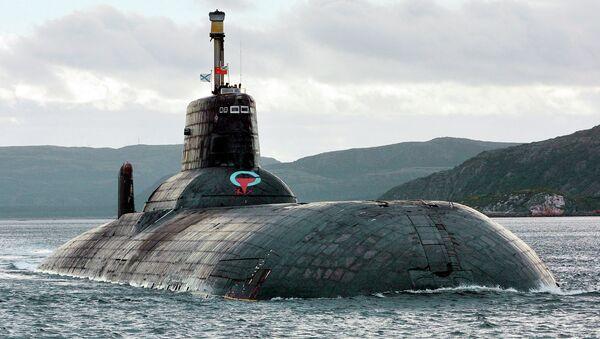 Submarino nuclear ruso de clase Akula - Sputnik Mundo