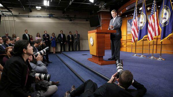 John Boehner anuncia su renuncia en el Congreso - Sputnik Mundo