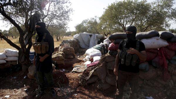 Terroristas del Frente al Nusra en Siria (Archivo) - Sputnik Mundo