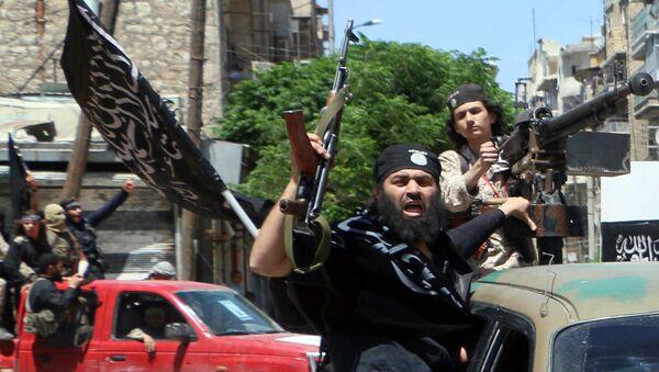 Terroristas del grupo Frente al Nusra - Sputnik Mundo