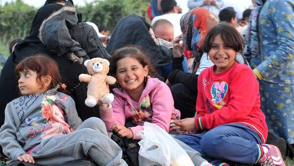 Niños refugiados - Sputnik Mundo