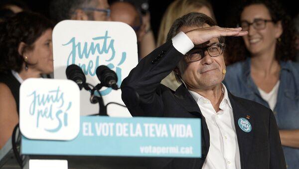 Artur Mas - Sputnik Mundo