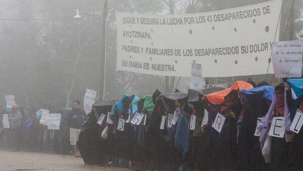 Chiapas: Miles se manifestaron - Sputnik Mundo