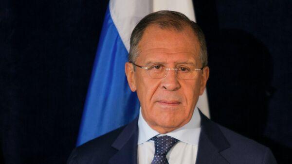 Serguéi Lavrov, ministro ruso de Exteriores - Sputnik Mundo