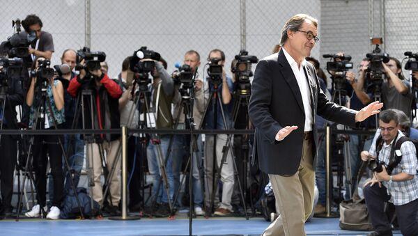 Artur Mas, presidente de Caraluña - Sputnik Mundo