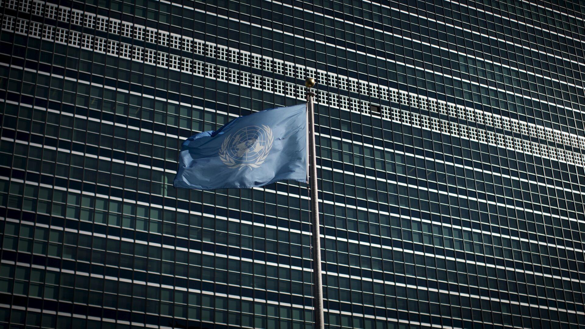 La bandera de la ONU - Sputnik Mundo, 1920, 10.02.2021