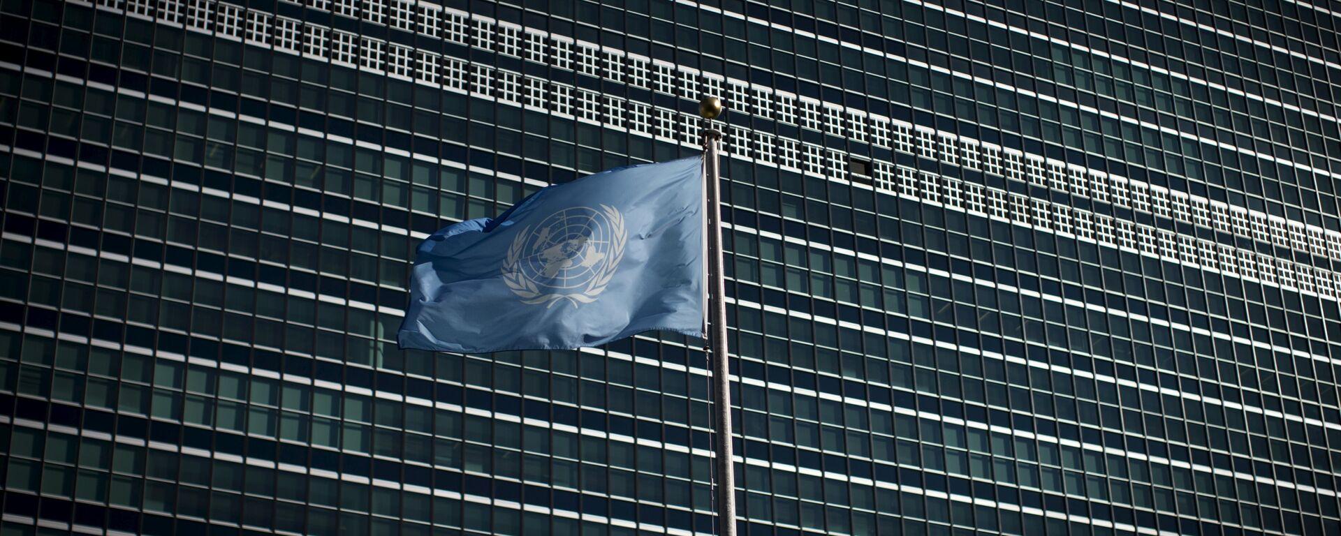 La bandera de la ONU - Sputnik Mundo, 1920, 21.09.2021