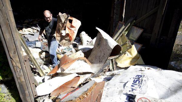 Escombros del Boeing MH17 - Sputnik Mundo