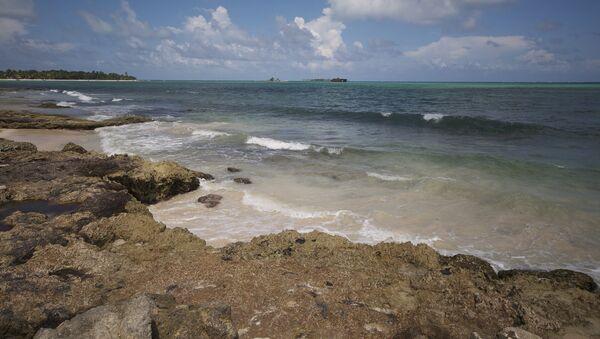 Una de las islas del archipiélago disputado de San Andrés (noroeste) - Sputnik Mundo