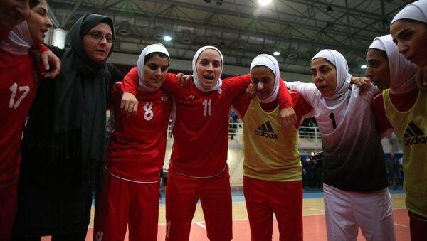 La selección nacional de fútbol femenino de Irán (Archivo) - Sputnik Mundo