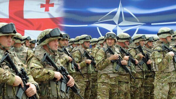 Soldados georgianos - Sputnik Mundo