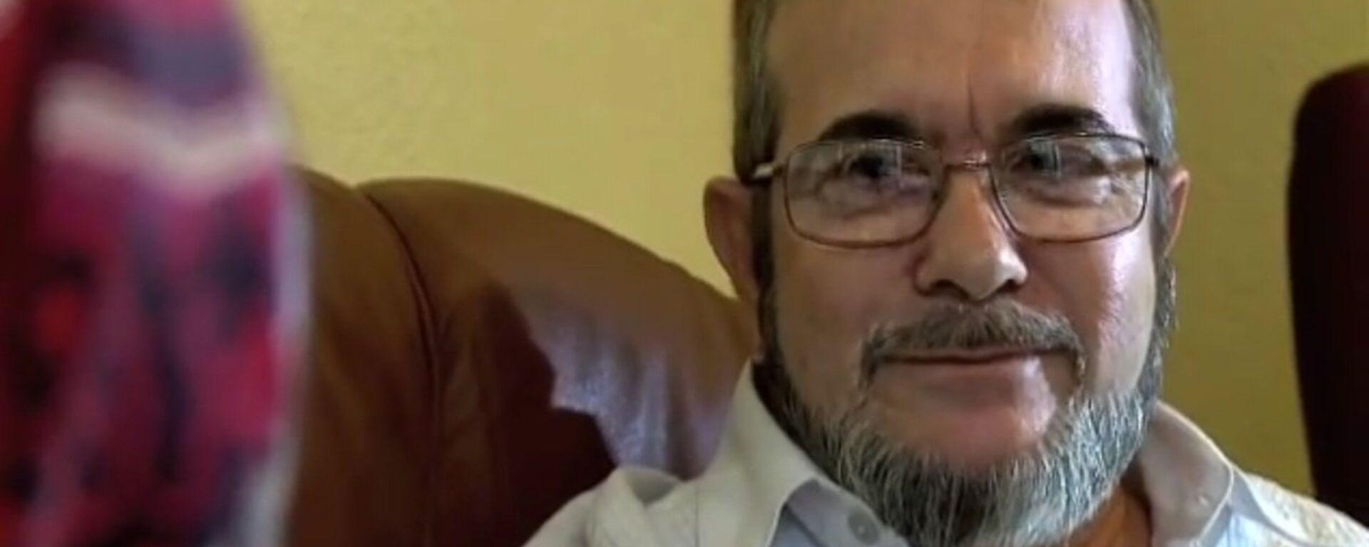 El máximo líder de las FARC, Rodrigo Londoño Echeverri, alias 'Timochenko' - Sputnik Mundo, 1920, 28.05.2021