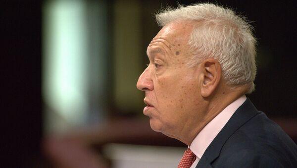José Manuel García-Margallo, ministro de Asuntos Exteriores español - Sputnik Mundo