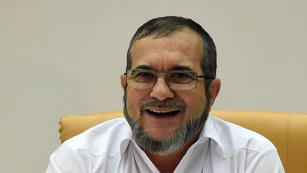 El máximo líder de las FARC, Rodrigo Londoño Echeverri, alias 'Timochenko' - Sputnik Mundo