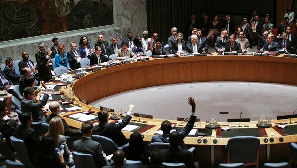 Consejo de Seguridad de la ONU en la sede en Nueva York - Sputnik Mundo