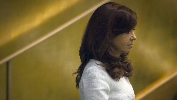 Cristina Kirchner, expresidenta de Argentina - Sputnik Mundo