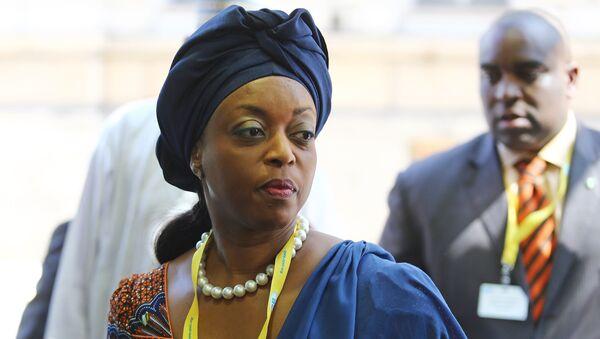 Diezani Alison-Madueke, presidenta de la OPEP - Sputnik Mundo