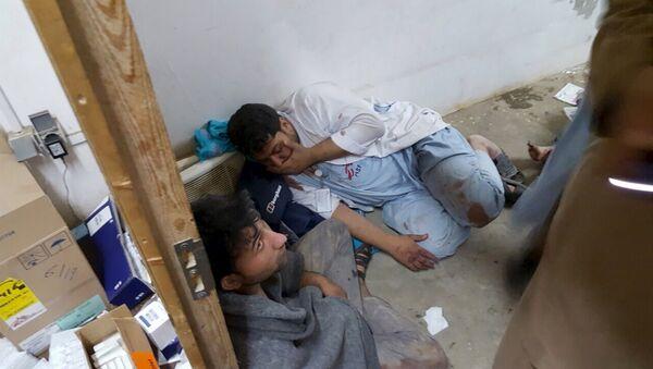 Situación en el hospital de Médicos Sin Fronteras en Kunduz tras el bombardeo - Sputnik Mundo