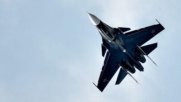 Сaza polivalente Su-30 - Sputnik Mundo