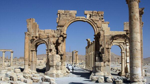 Arco de Triunfo en Palmira (Archivo) - Sputnik Mundo