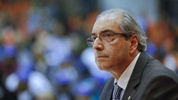 Eduardo Cunha, presidente de la Cámara de Diputados de Brasil - Sputnik Mundo