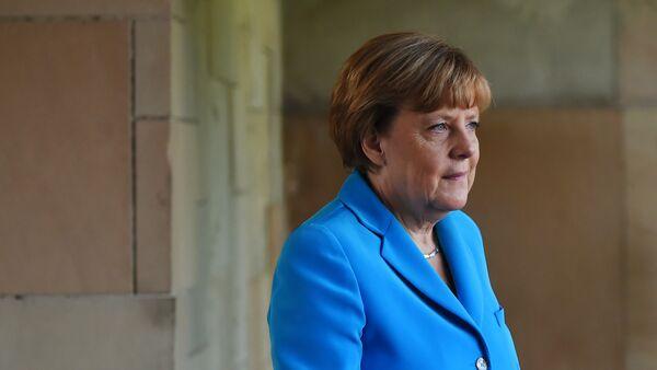 Angel Merkel, la canciller alemana - Sputnik Mundo