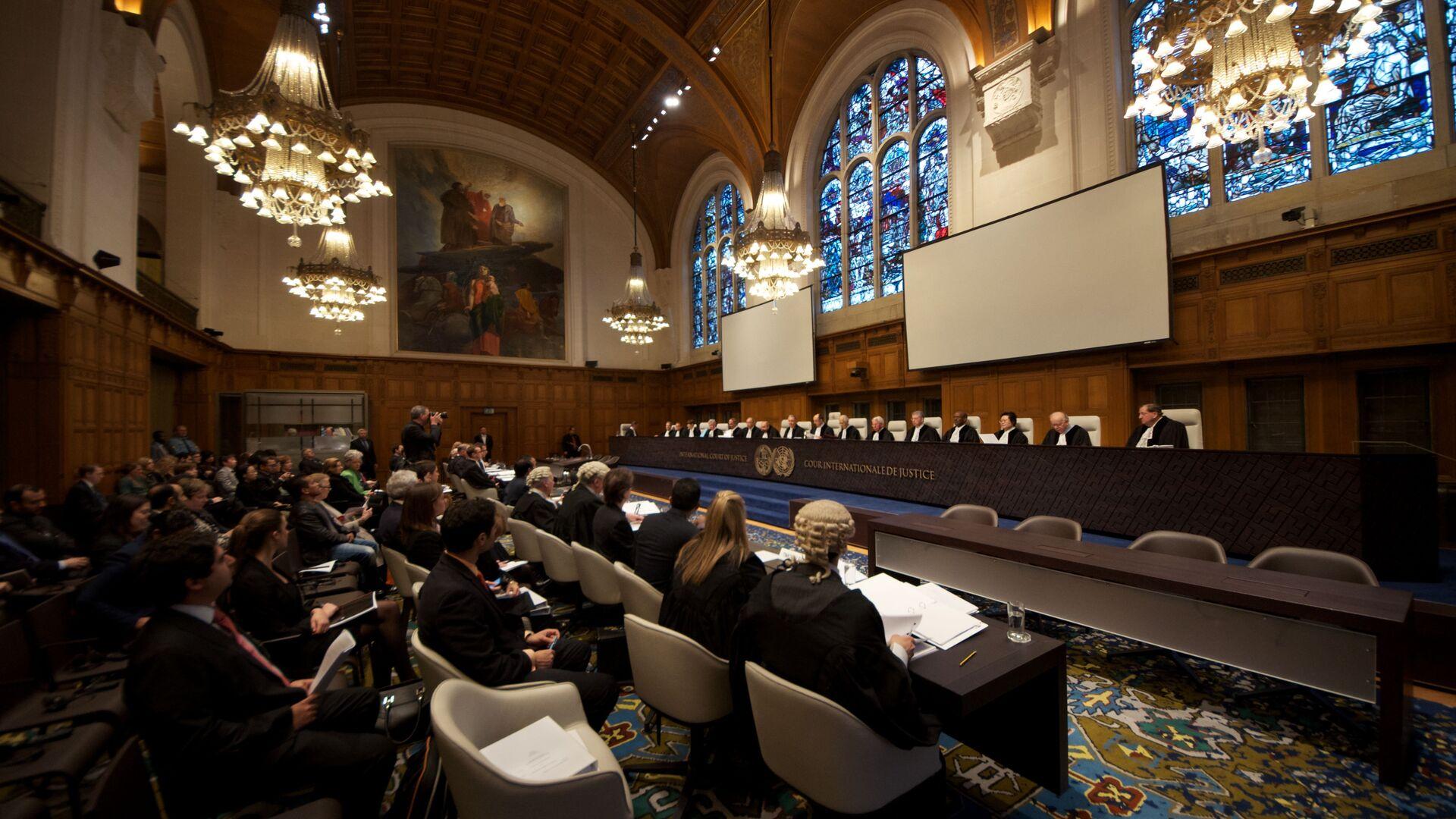 Corte Internacional de Justicia en la Haya (archivo) - Sputnik Mundo, 1920, 29.09.2021