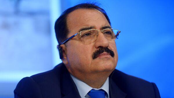 Riad Haddad, el embajador de Siria en Moscú - Sputnik Mundo