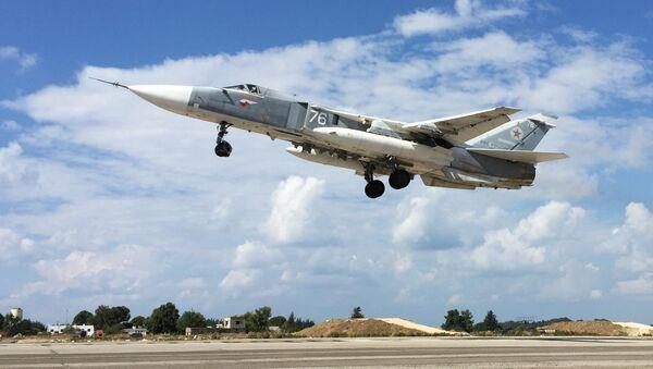 Avión Su-24 - Sputnik Mundo