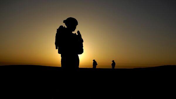 Soldado estadounidense en Irak - Sputnik Mundo