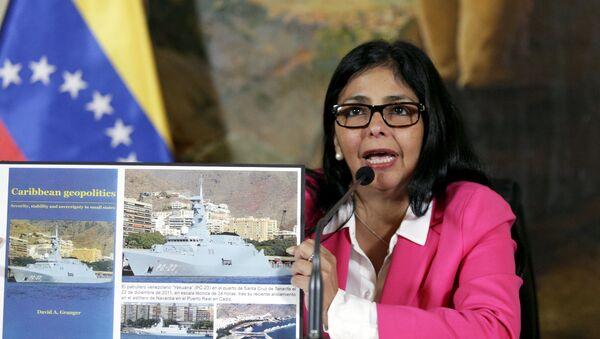 Delcy Rodríguez, ministra de Relaciones Exteriores de Venezuela - Sputnik Mundo