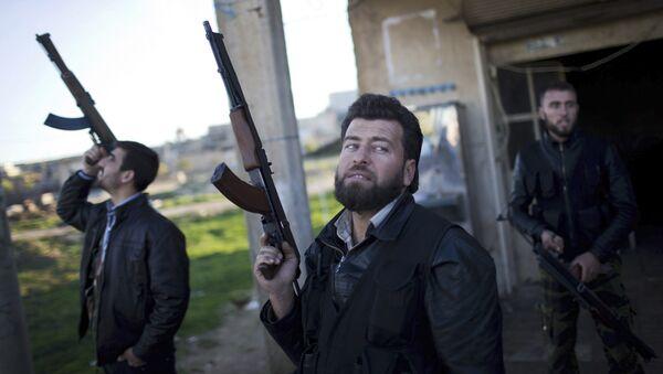 Combatientes del Ejército Libre Sirio - Sputnik Mundo