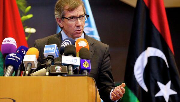 Bernardino Leon, enviado especial de la ONU para Libia - Sputnik Mundo