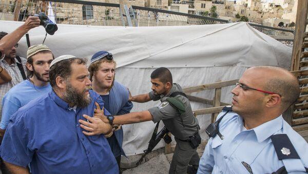 Bentzi Gopstein, líder del grupo israelí anti-árabe Lehava - Sputnik Mundo
