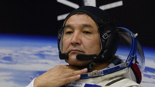 Aidyn Aimbétov, cosmonauta kazajo - Sputnik Mundo