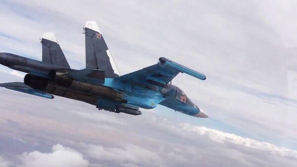 Ataques aéreos en las provincias de Raqqa y Alepo - Sputnik Mundo