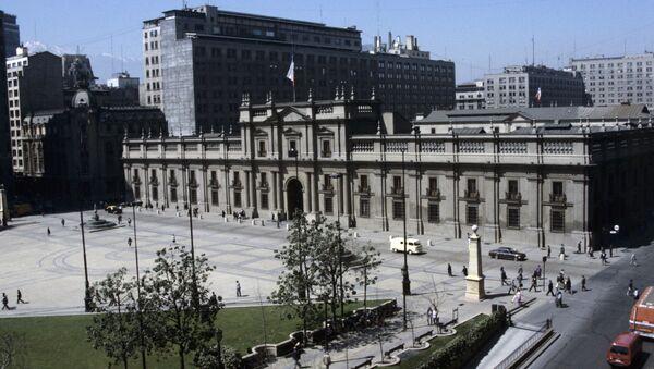 Palacio de La Moneda en Santiago de Chile - Sputnik Mundo