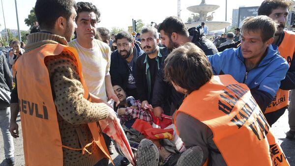 Consecuencias del atentado en Ankara - Sputnik Mundo
