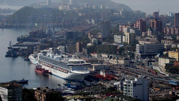 Puerto ruso de Vladivostok - Sputnik Mundo