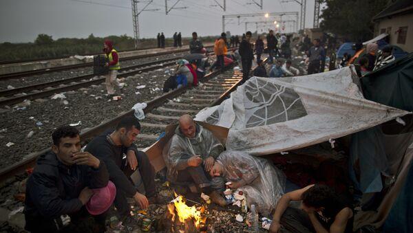 Refugiados iraquíes - Sputnik Mundo