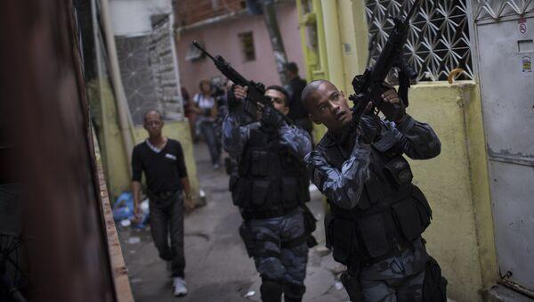 Policía Militar de Río de Janeiro - Sputnik Mundo